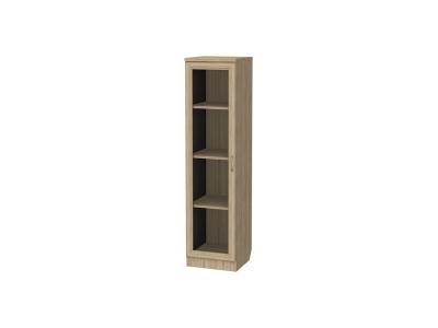 Шкаф для книг узкий артикул 212 дуб сонома