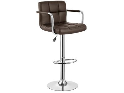 Барный стул WY-451U коричневый