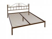 Кровать Надежда Lux черная