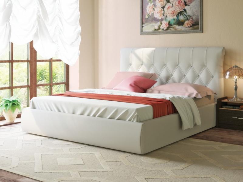 Кровать Тиффани 3011 белая