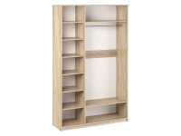 Шкаф 3-х створчатый Дуэт Люкс 1415х450х2300 ясень шимо