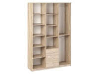 Шкаф комбинированный Дуэт Люкс 1500х450х2300 Дуб Сонома светлый