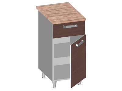 Стол-шкаф Эконом 14.22 на 400 845-400-600