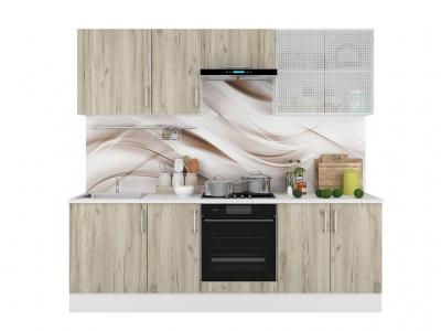 Кухонный гарнитур Европа 2400 Серый Крафт