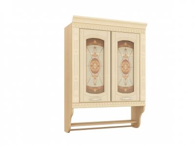 Шкаф-витрина с колоннами 03.11 Глория 3 800х310х1070