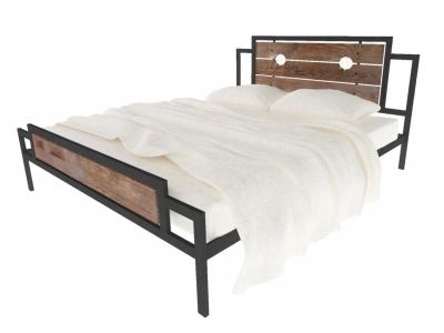 Кровать Инесса Plus черная