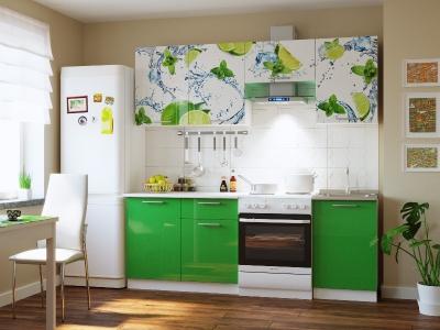 Кухонный гарнитур Риал 2К-108-зеленый 2100