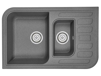 Кухонная мойка Granula 7803 Графит