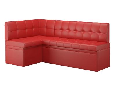 Кухонный диван угловой Остин Эко кожа Reex Red