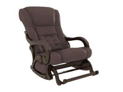 Кресло-качалка Родос глайдер экокожа венге