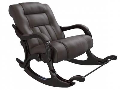 Кресло-качалка Родос экокожа венге