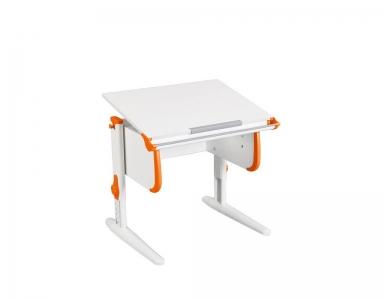 Парта СУТ-24 White оранжевая