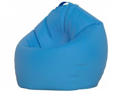 Кресло-мешок XXXL нейлон голубой