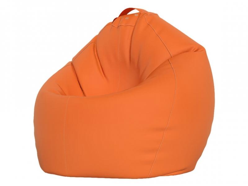 Кресло-мешок XXXL нейлон оранжевый